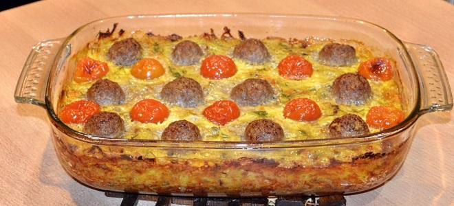 Картофельная запеканка с фаршем в духовке - рецепты с баклажанами, грибами, кабачками.