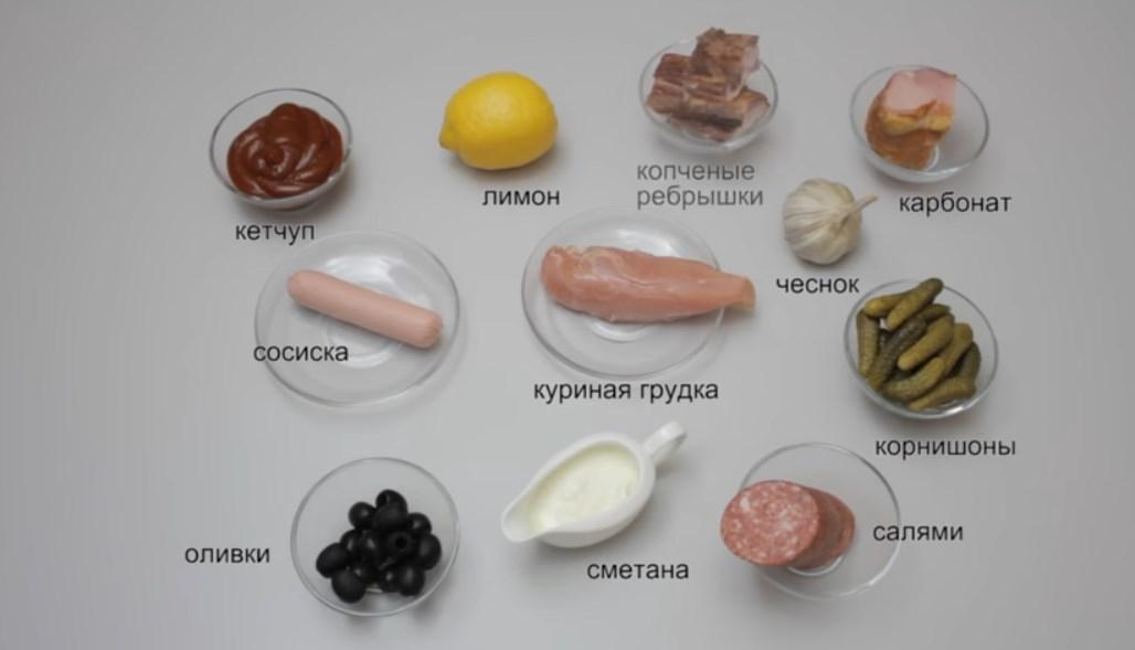 «Солянка» с колбасой. Рецепты приготовления в домашних условиях