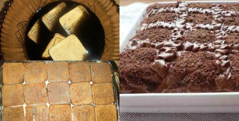 Бомба-торт за 3 шага: без замеса теста и выпекания коржей! Кофейный аромат сводит с ума.