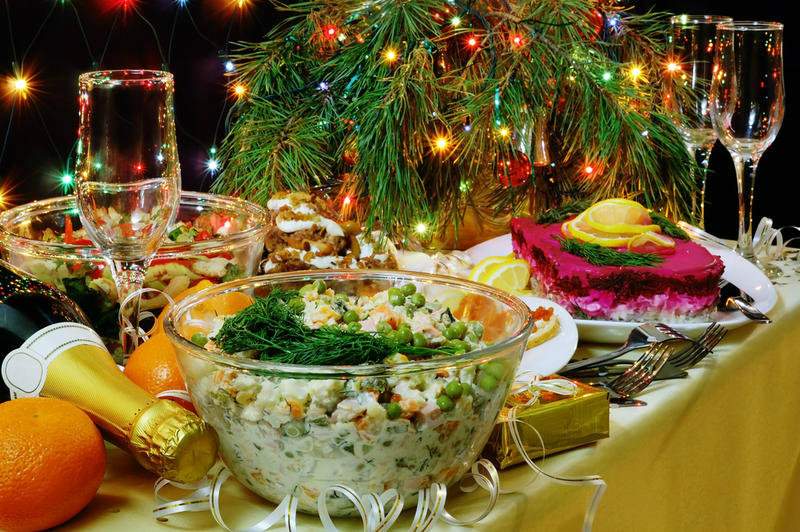 Top 10 festive salads for the new year