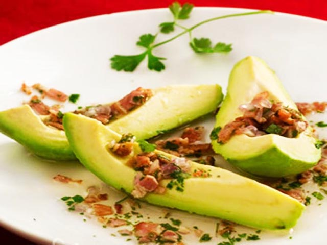 Delicious avocado salads