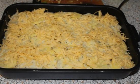 Картофельная запеканка с фаршем в духовке, простые и вкусные рецепты