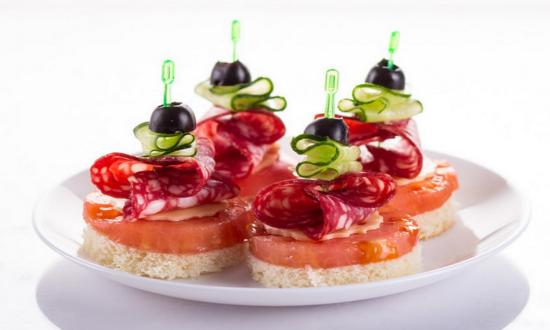 Бутерброды на праздничный стол. Несколько рецептов простых и вкусных бутербродов