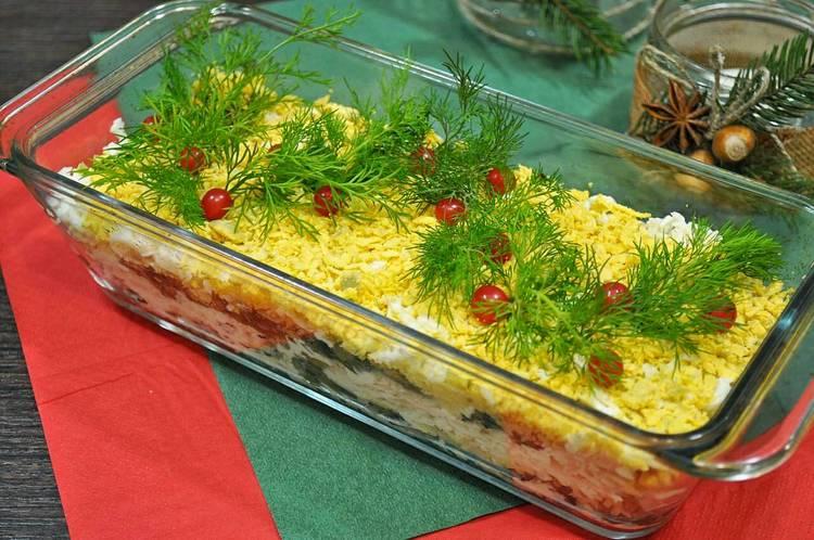 Layered Salad - Festiva