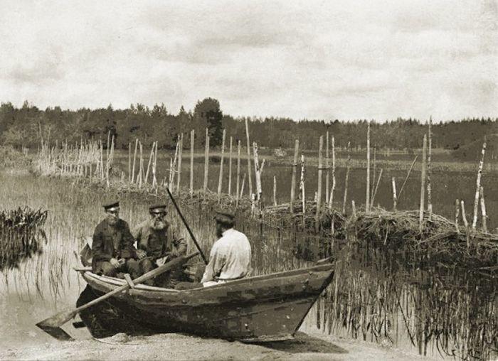 Древние способы рыбной ловли