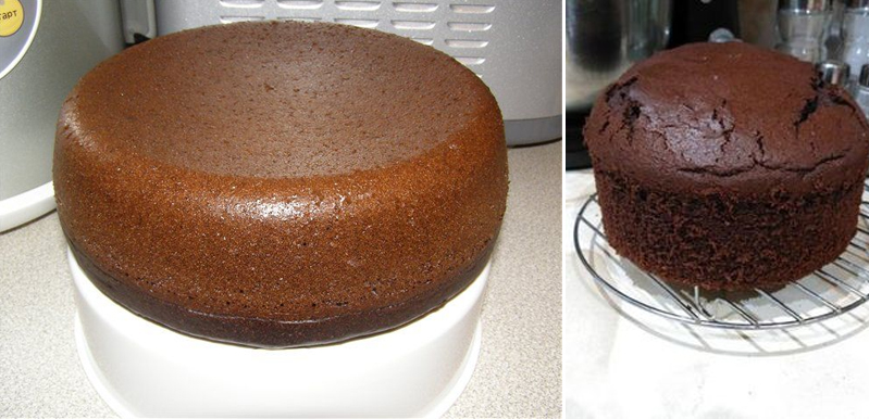 I have not tried this luscious, perforated cake yet! Principal ingredient