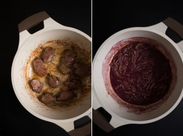 How to make burgundy meat that melts in your mouth.
