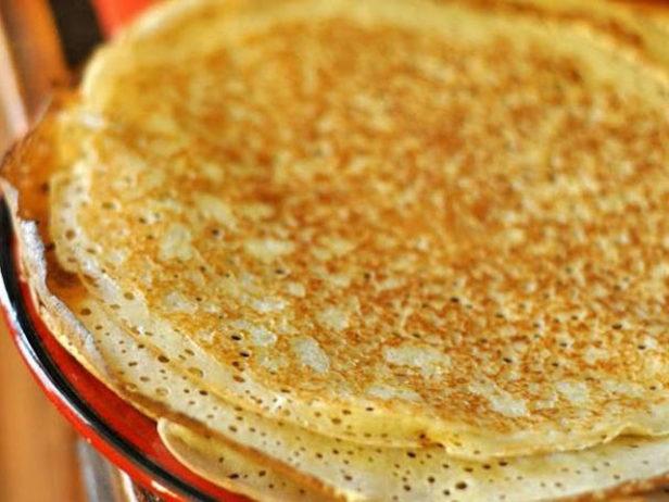 Блины на воде рецепт пошагово с дырочками с содой