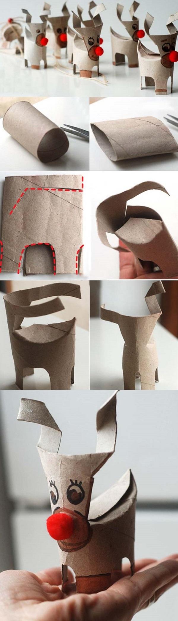 Поделки из рулонов туалетной бумаги: идеи для творчества 49