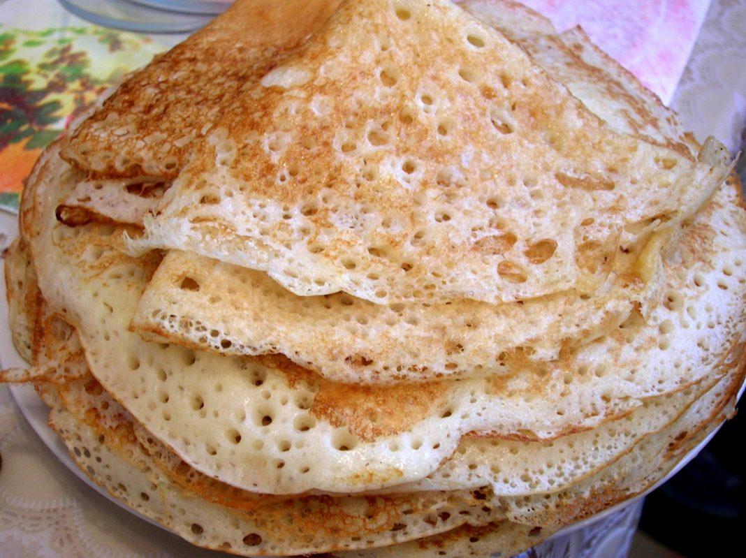 Блины рецепт пошагово не тонкие