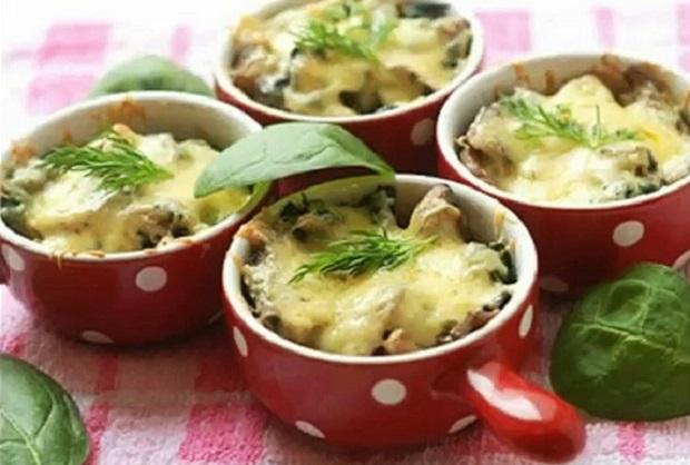 жульен с грибами рецепт классический в духовке со сливками