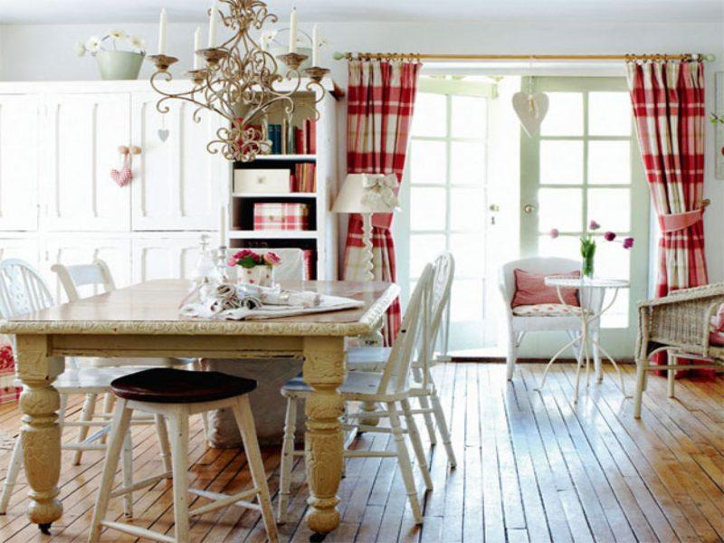 Шторы для кухни: 35 советов модного комбинирования