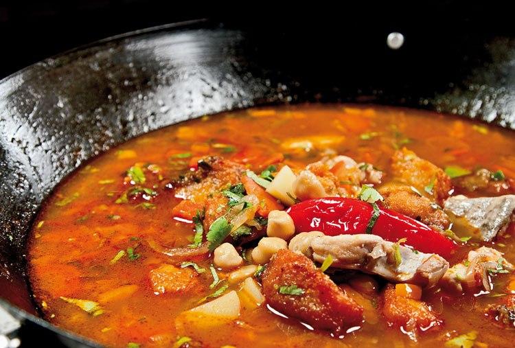 Рыбный суп с поджаркой
