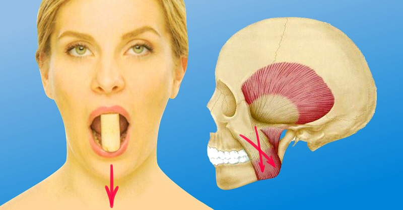 Чтобы подтянуть область вокруг рта, берешь пробку, кладешь между… Разбуди неработающие мышцы‼