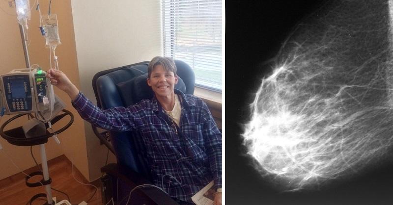 Впервые! В США вылечили 49-летнюю женщину с последней стадией рака груди.