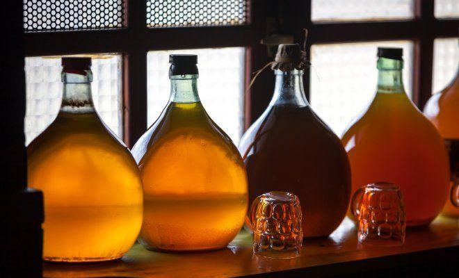 Домашние настойки на спирту