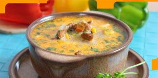 Бесподобный и сытный суп с мясом Гирос