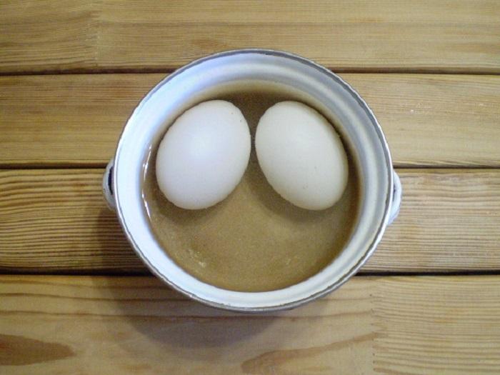 Берем вареное яйцо, подсолнечное масло... Результат завораживающий!