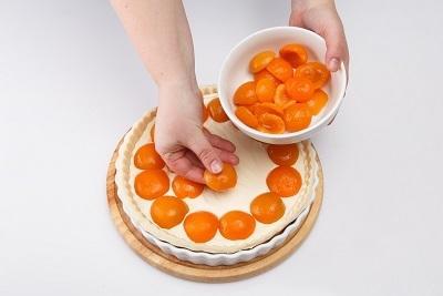 Пирог с творогом и абрикосами: пошаговый рецепт