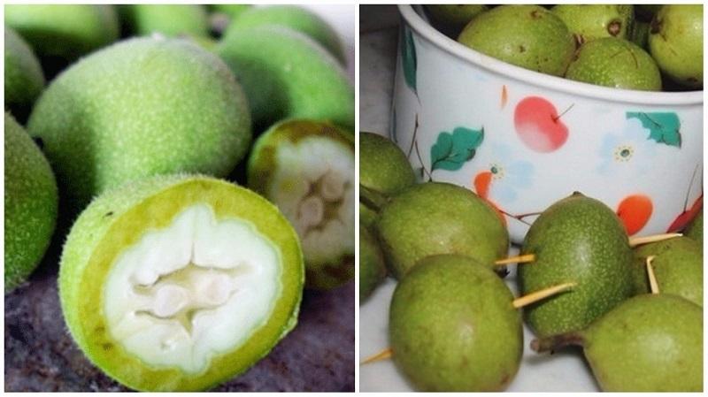 Грецкие орехи молочной спелости поправят здоровье на долгие годы! Орехи для крови, сердца и ума.