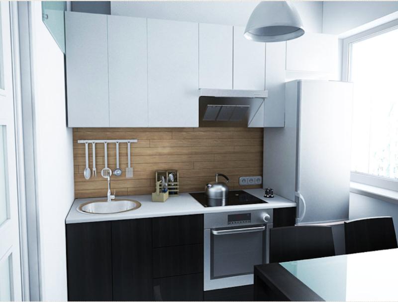 Кухня 6 кв. м: оригинальные дизайнерские решения💠