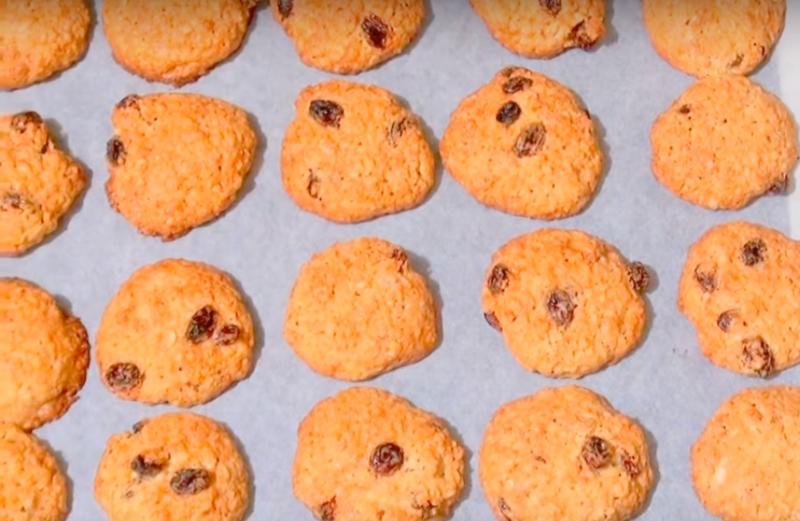 Как испечь исчезающее овсяное печенье