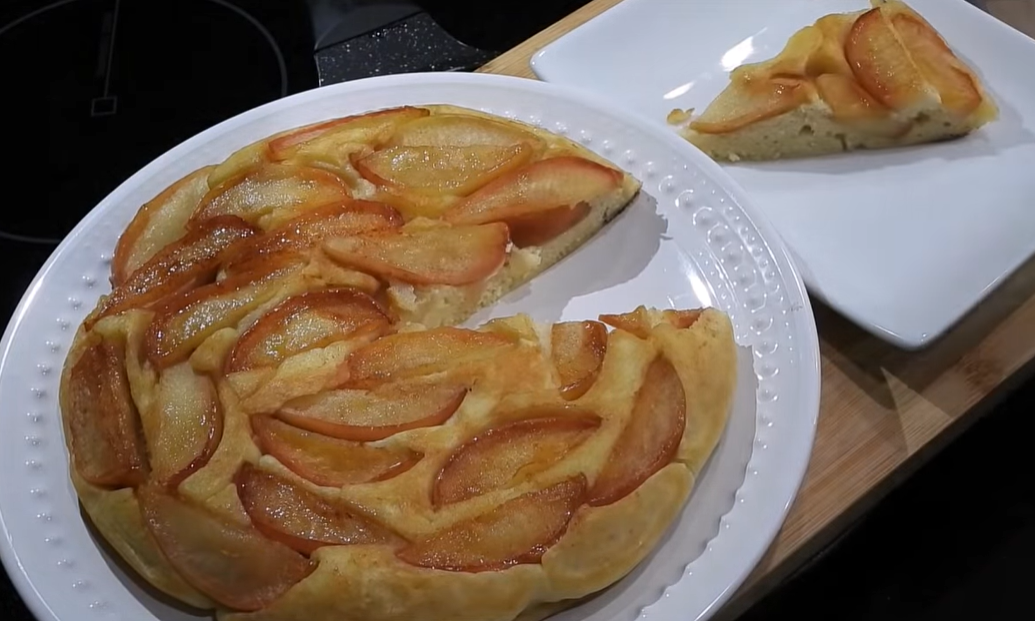Пирог на завтрак за 12 минут