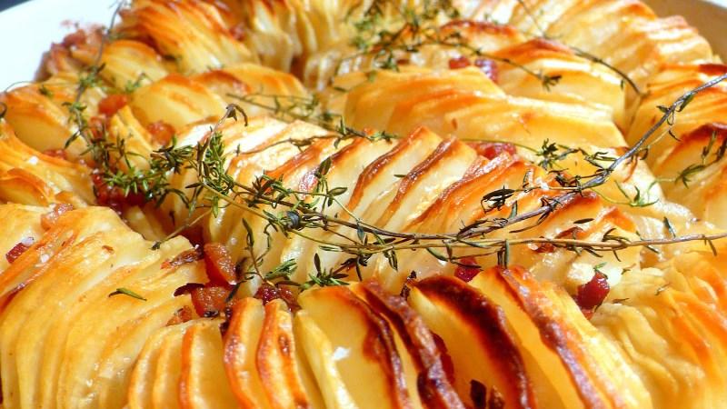 Почему картофель нужно нарезать кружочками