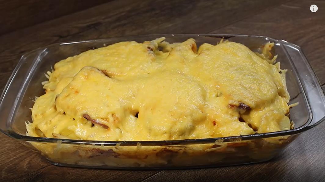 Что приготовить на торжественный ужин? Рецепт картофеля со свининой.