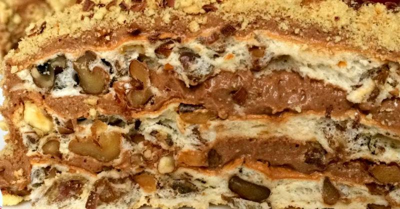 Как сделать шикарный торт без граммулечки муки