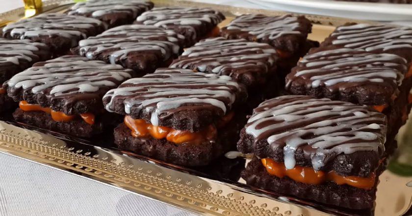Рецепт печенья «Сникерс» со вкусом популярного батончика