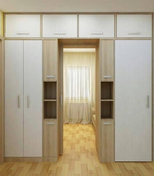 Рациональные идеи, как и где разместить шкафы, когда не хватает места