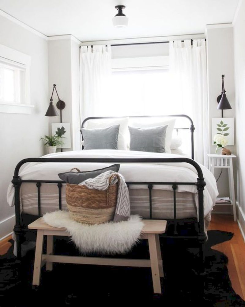22 удачные идеи, как обустроить совсем крошечную спальню
