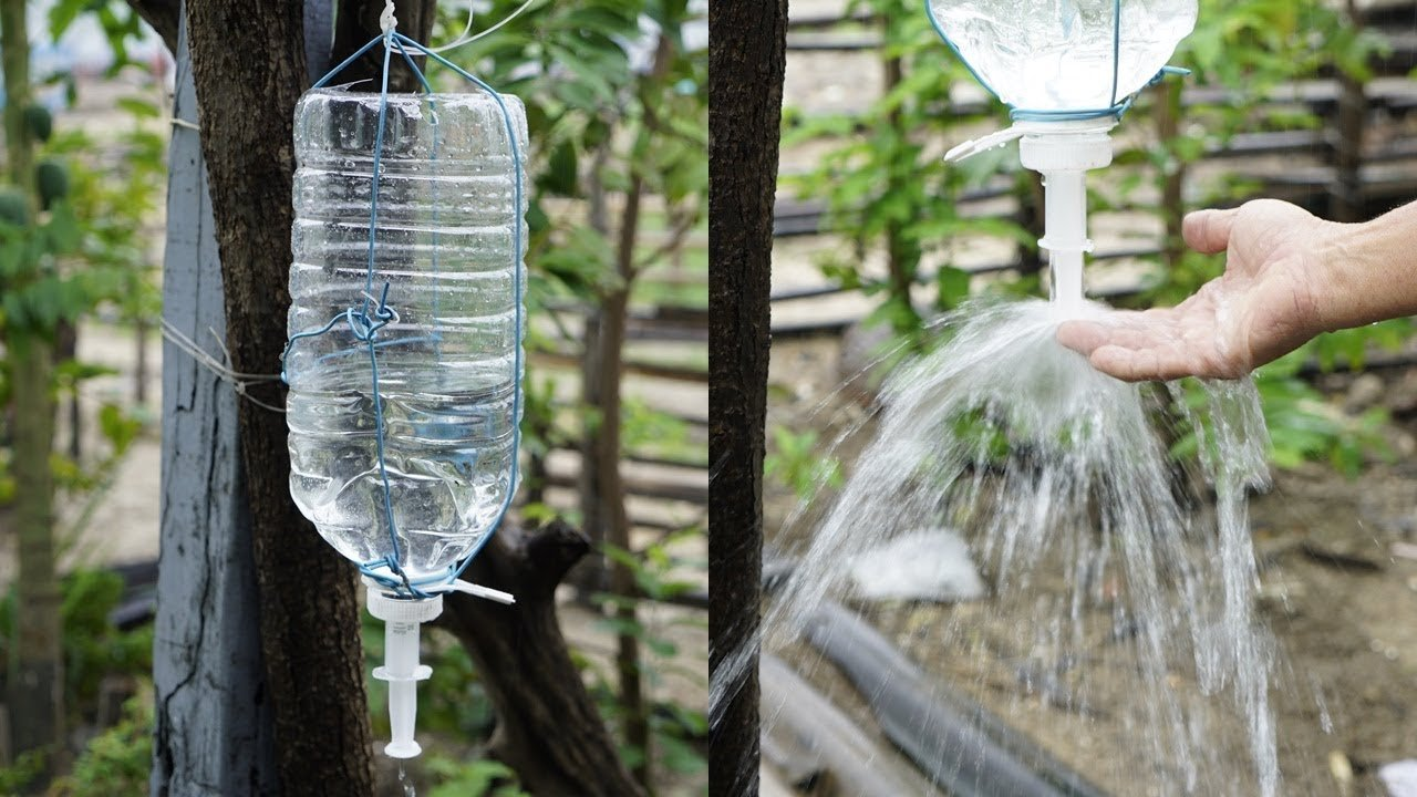 15 идей, как можно использовать пластиковые бутылки на даче