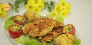 Идеальное праздничное угощение – мясо в шубе из хрустящих гренок