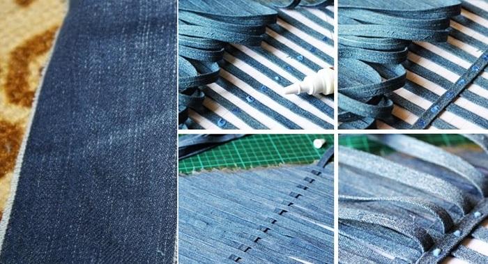 Зачем разрезать джинсы на тонкие полоски