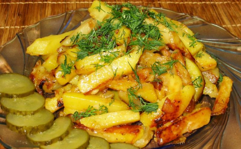 Великолепная жареная картошка