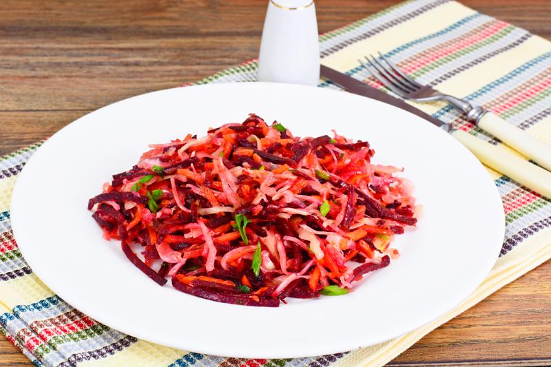 Шпаргалка по приготовлению свекольных салатов