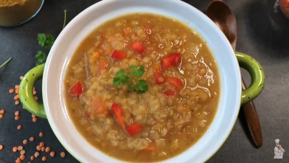 Индийский суп Масурдал