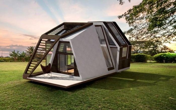Отличный вариант для дачи: дом, который доставляют на участок уже готовым