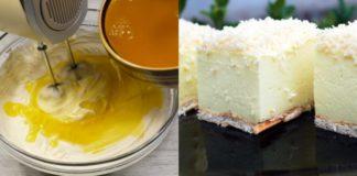Рецепт нежного, тающего во рту десерта без выпечки «Снежный пух»