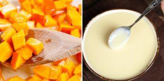 Инструкция по приготовлению пирога с тыквой и сгущенкой