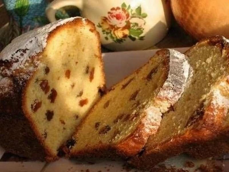 Пятиминутный пирог на кефире для быстрых хозяек