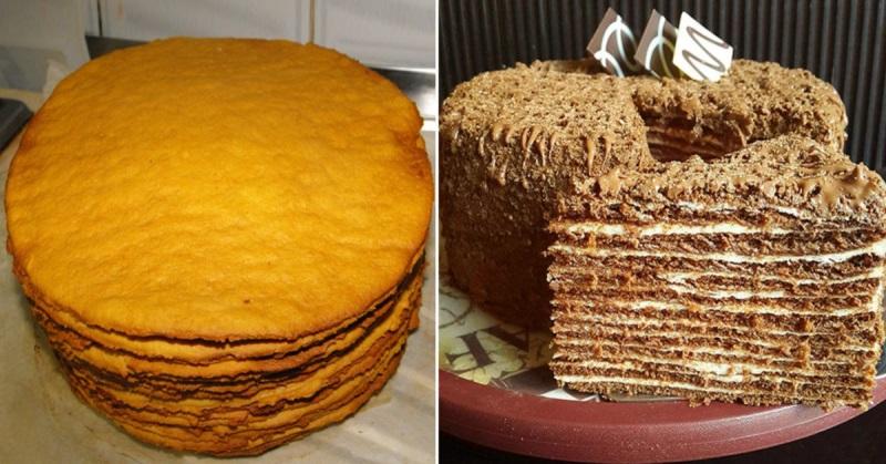 Рецепт шоколадного торта с грецкими орехами