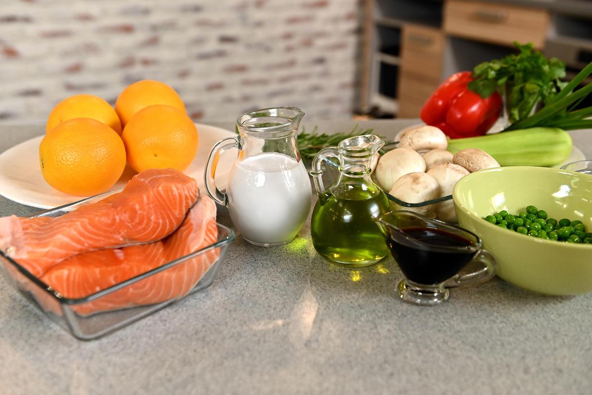 Сочный лосось в апельсиновом соке — открываем секреты азиатской кухни