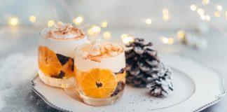 Новогодние блюда с мандаринами