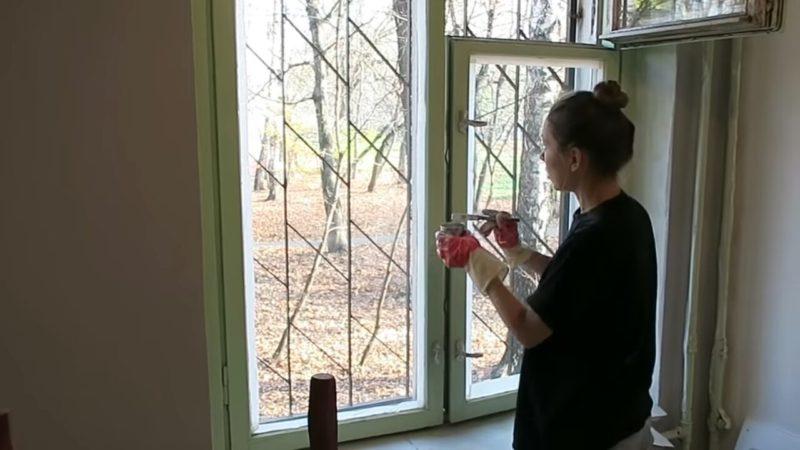 Девушка переделала старый советский интерьер своими руками за копейки