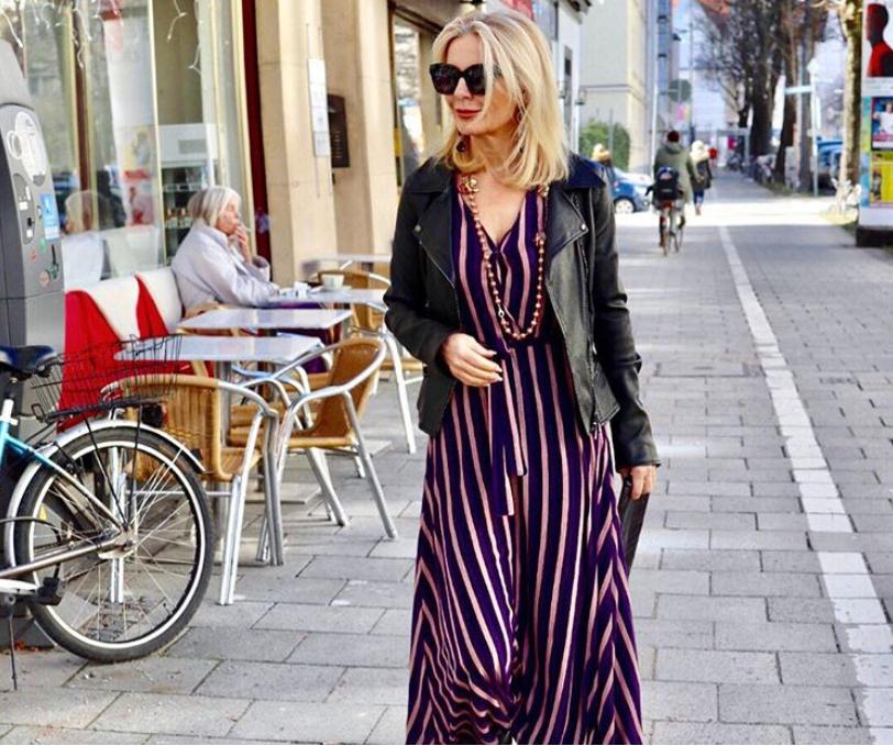 Подборка образов немецкого стилиста Биби Хорст в ярких цветах