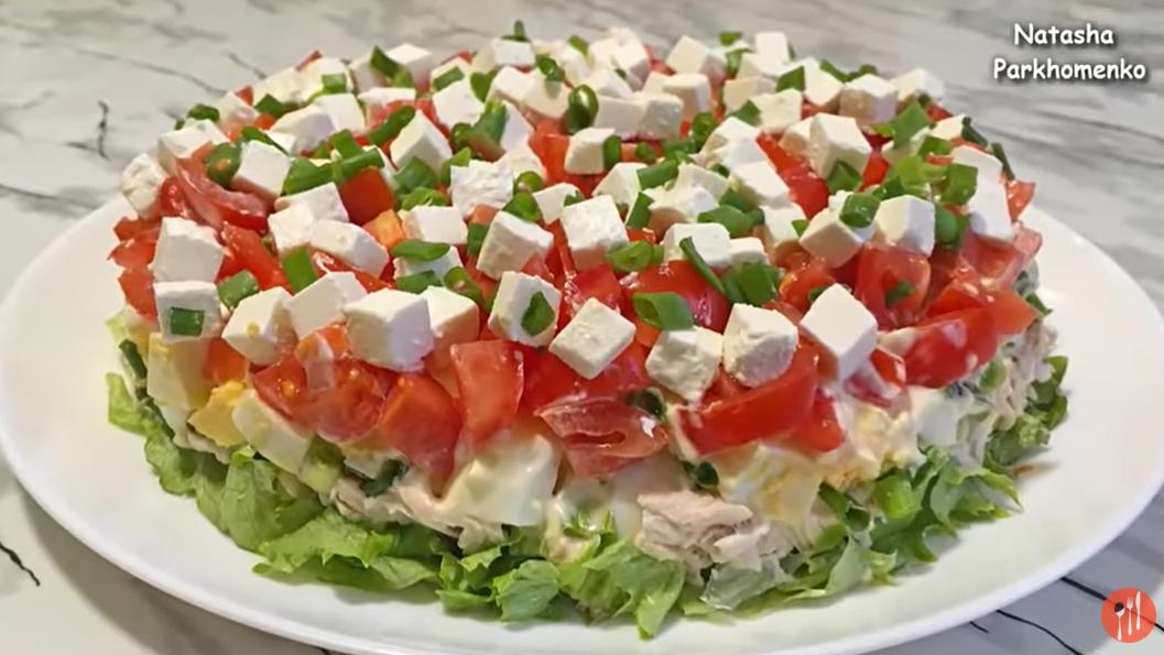 Прелестный салат «Триумф»