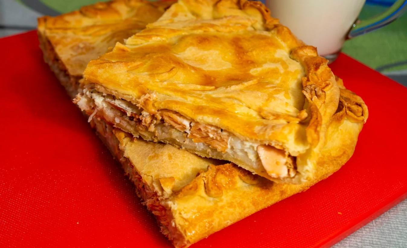 Быстрый рецепт пирога с форелью «Праздничный»